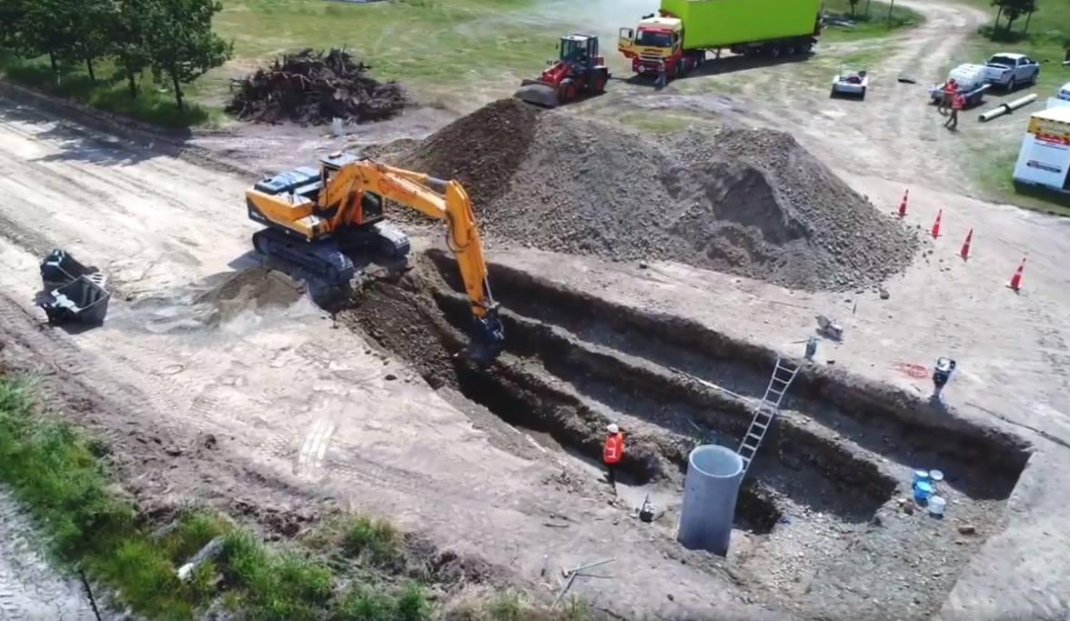 civil drainage christchurch